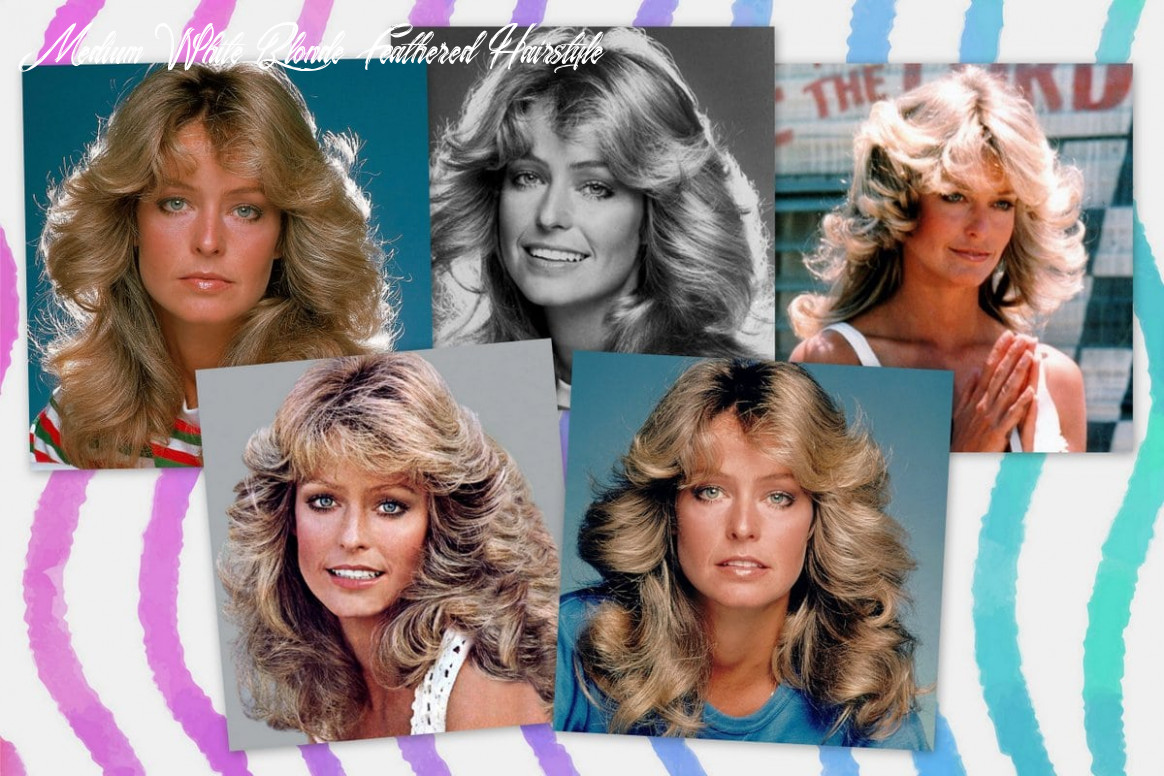 How to get Farrah Fawcett's famous long feathered hairstyle from ...