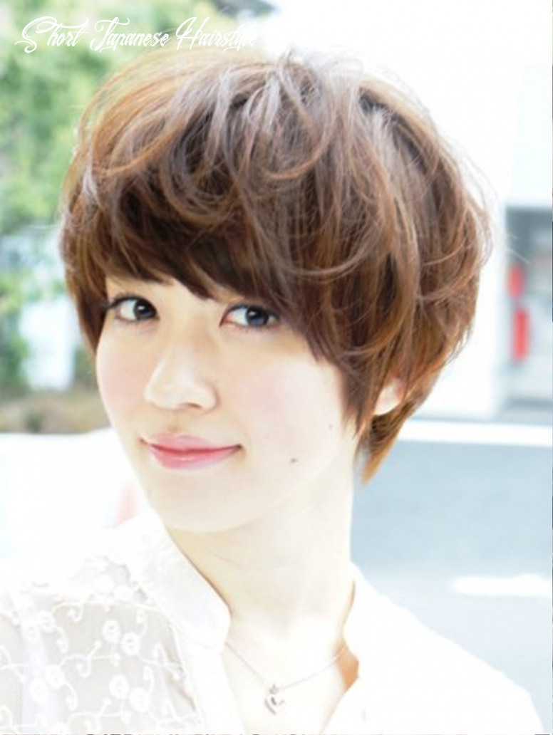 Japanese Short Hairstyle For Summer   Hairstyles Cool