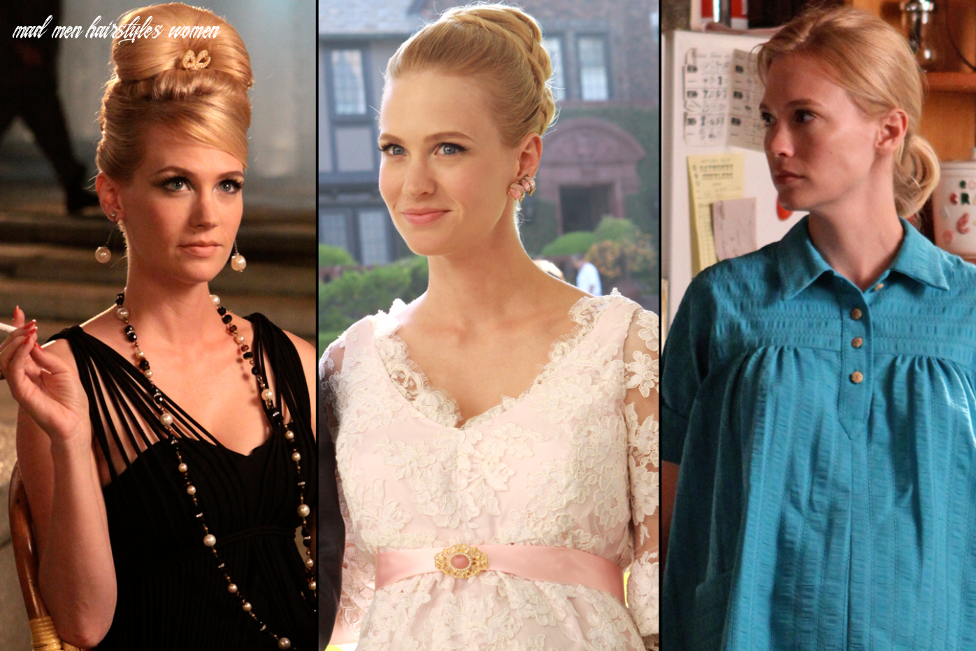 Mad Men Style Evolution: How Don, Betty, Peggy, Joan, and More ...