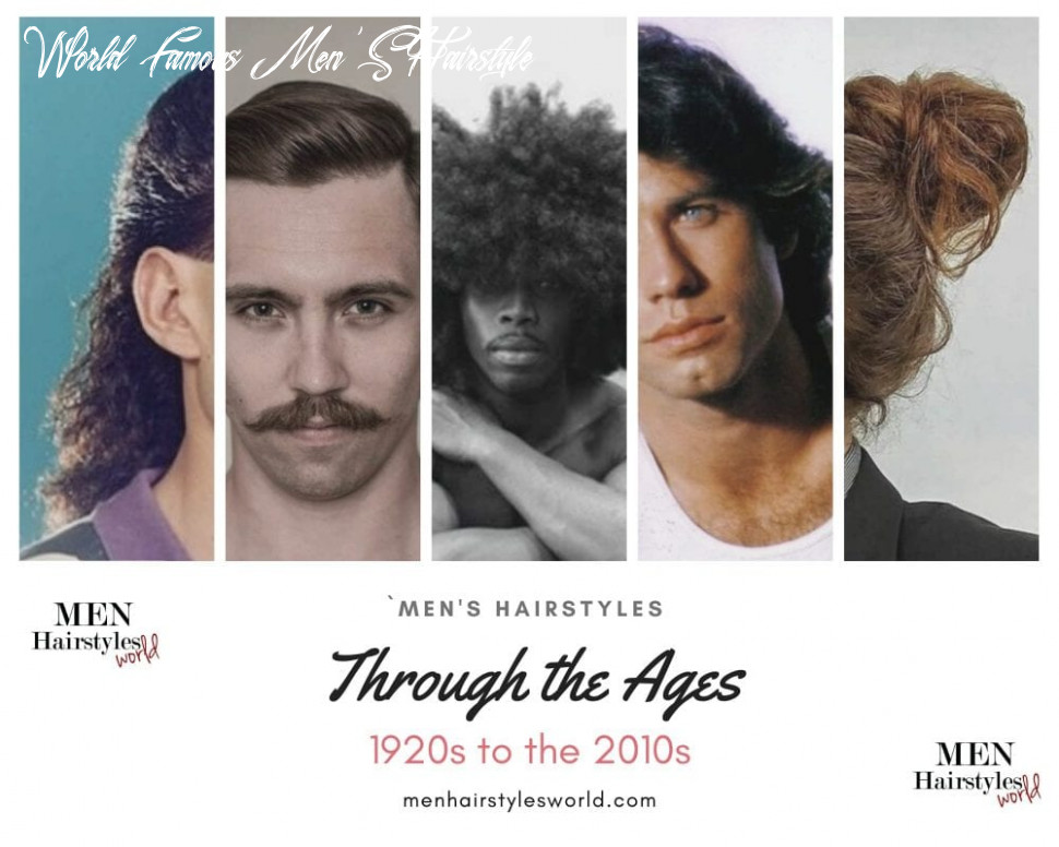 Men's Hairstyles Through the Ages: 12 Iconic Styles for Each Decade ...