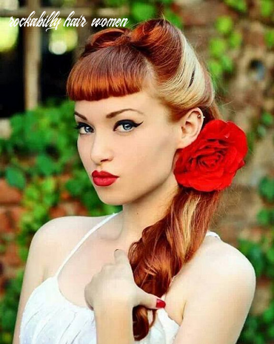 rockabilly hairstyles for women no bangs • YOUR HAIR CLUB