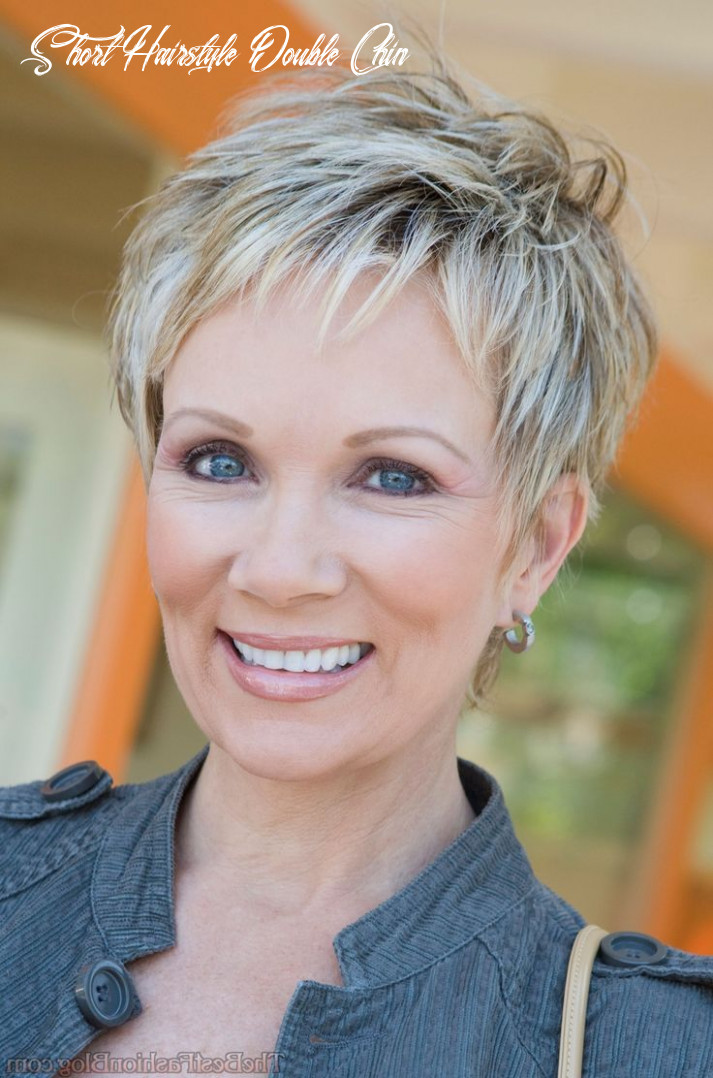Short Hair Round Face Double Chin Short Hairstyles For Round Faces ...