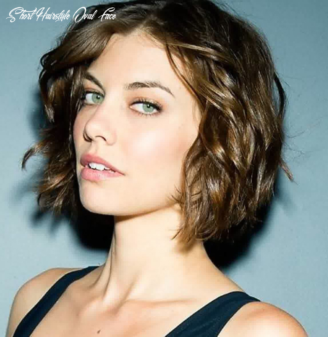 Short Hairstyles For Oval Faces With Wavy Hair | Short wavy ...