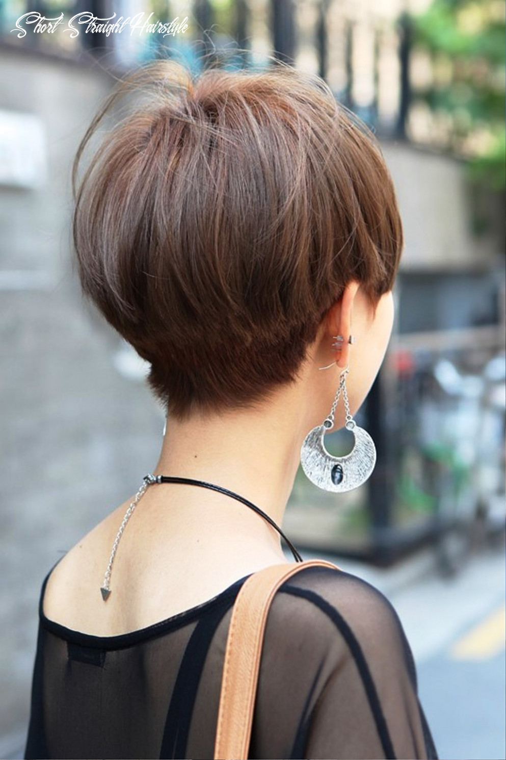 Short Straight Haircut For Asian Women | Hairstyles Cool