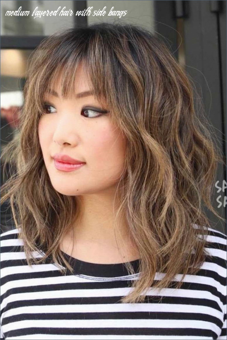 Side Swept Hairstyles for Medium Length Hair Unique Shoulder ...