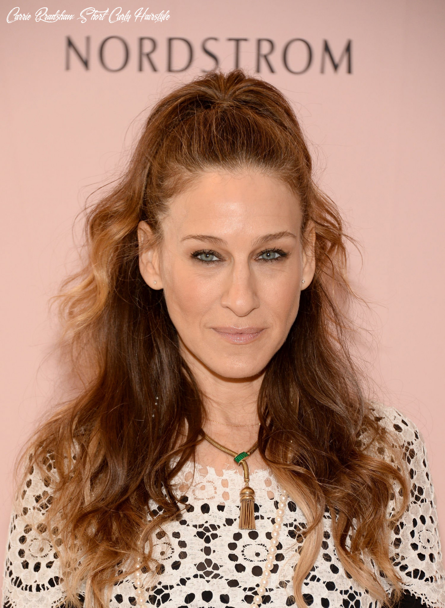 Theory: Carrie Bradshaw Would Never Wear This Hairstyle Sarah ...