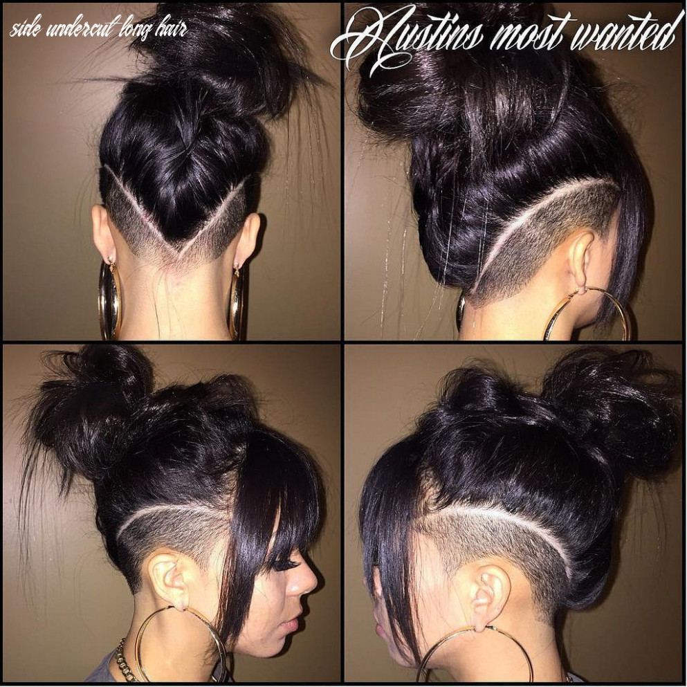Undercut Over the Ear   Hair styles, Shaved side hairstyles ...