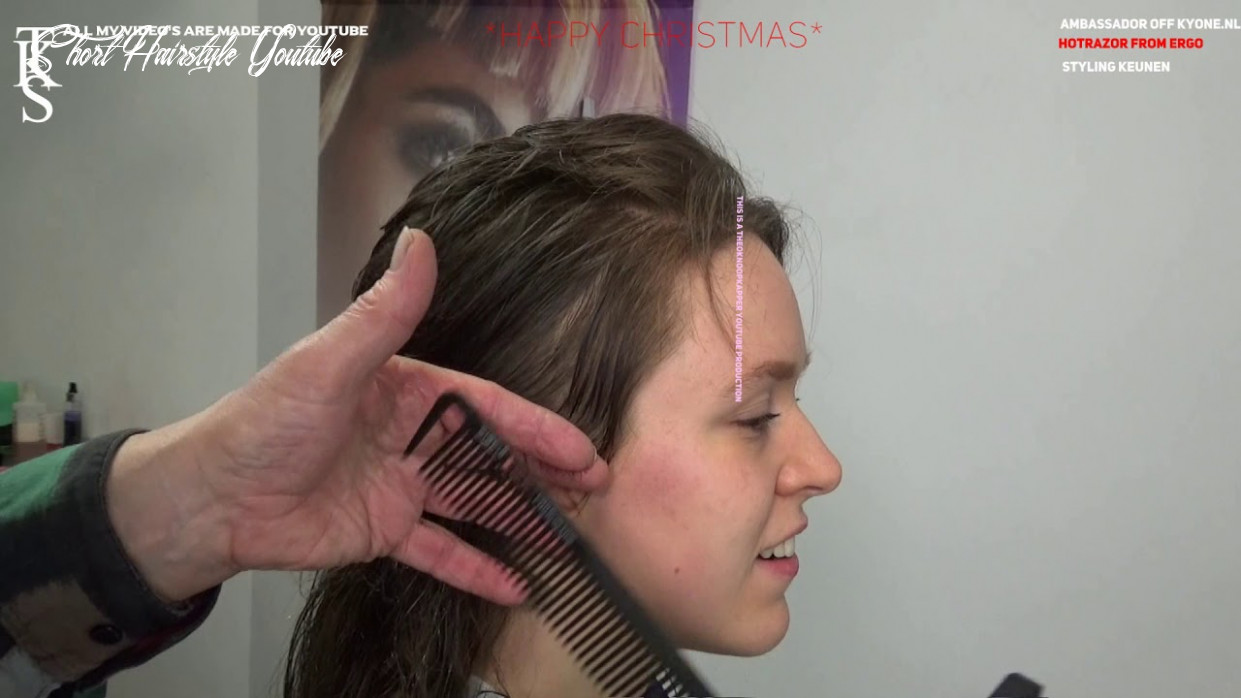 Who knows? The first step to a Short Hairstyle!!! Mullet Tutorial JULIE  models T.K.S