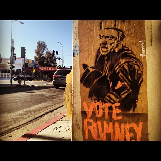 Oh and vote Romney... Ewe