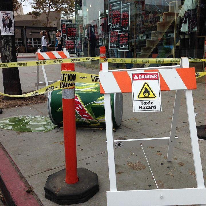 Warning, toxic spill! Mtn Dew