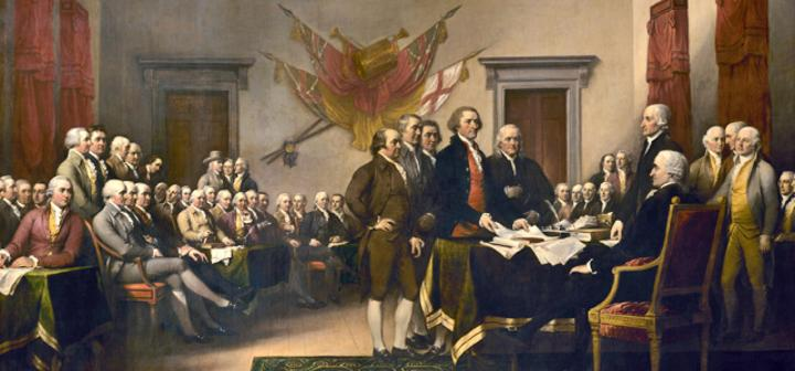 The Constitutional Convention, where the Founding Fathers wrote and established what would be in the Constitution of the United States.