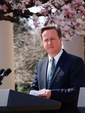 Prime Minister David Cameron who is in support of Britain staying in the EU