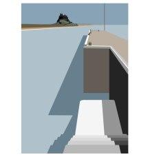 lindisfarne-harbour_ianmitchellart-com_