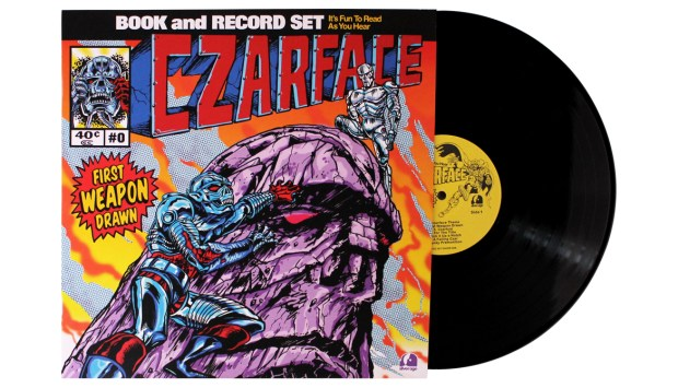 New Czarface Quot First Weapon Drawn Quot Comic Vinyl Set Released