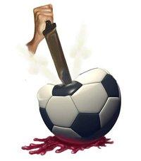 Balonicidio, un clásico entre los detractores del fútbol.