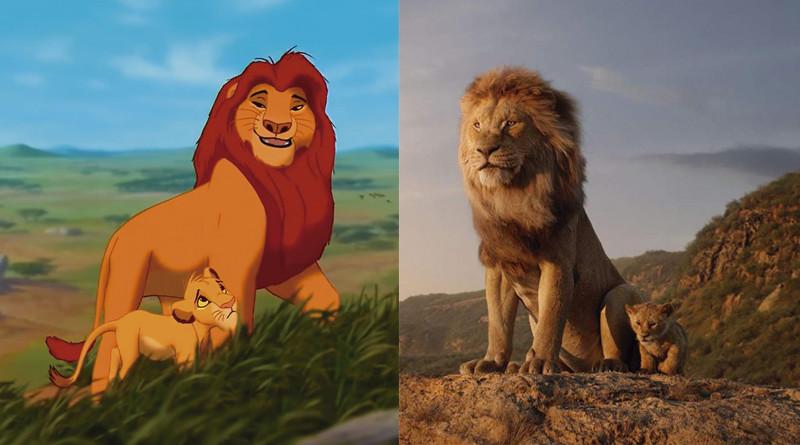 El Rey León comparación