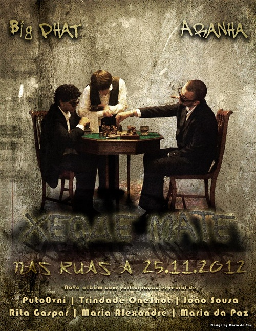 """Novo álbum dos TibeFamily """"Xeque Mate"""" nas ruas dia 25.11.2012"""