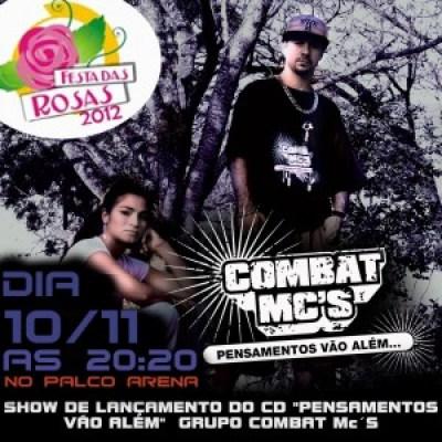Combat Mc´s lançara seu disco em Sapiranga.