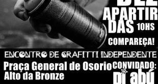 Dia 15 De Dezembro Encontro De Graffiti Independente