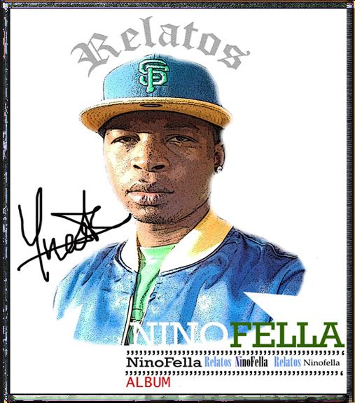 """Capa Official do Album do Rapper Ninofella """"Relatos"""""""