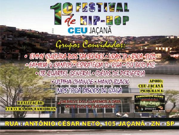 1º Festival De Hip Hop No Céu Jaçanã