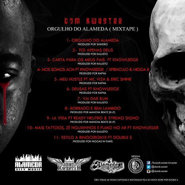Mixtape: Dom Kwester - Orgulho do Alameda