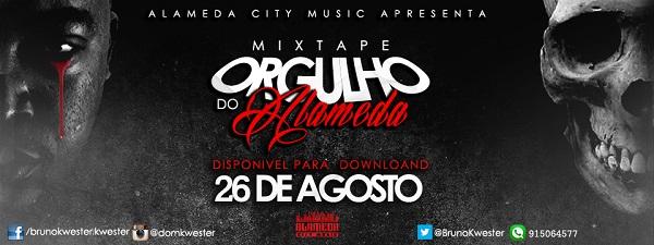 Notícia: A Mixtape Orgulho do Alameda do Rapper Dom Kwester estará disponível para download dia 26 de Agosto