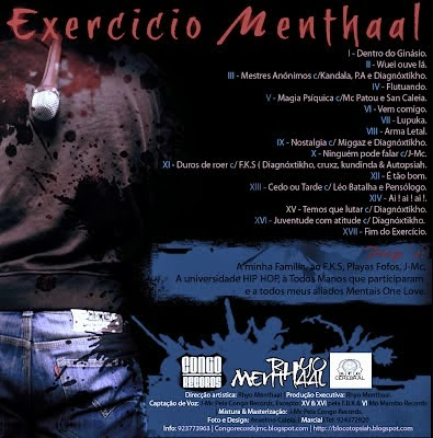 Mixtape: Rhyo Menthaal - Exercício Menthaal