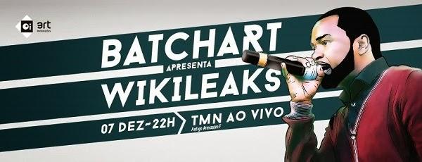 Grande show de Batchart  em Portugal/Lisboa | Dia 7 de Dezembro no TMN