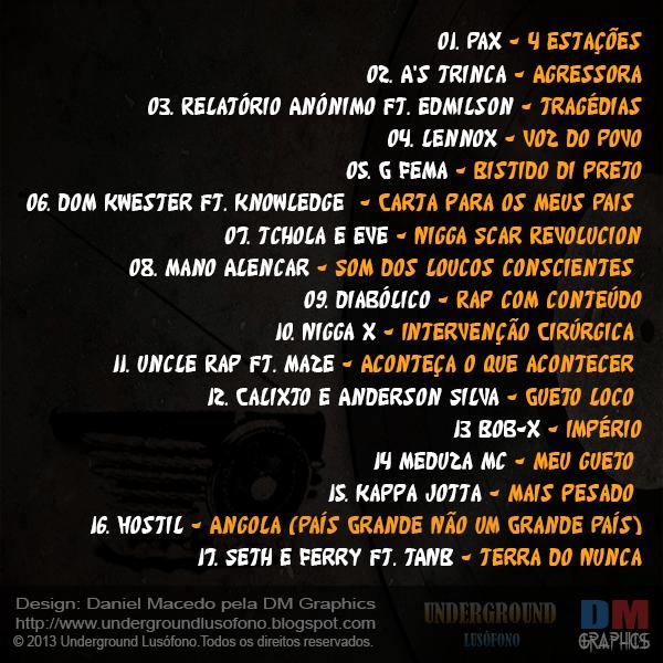 Compilação: Underground Lusófono 1 Ano
