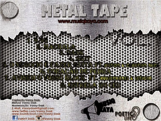 Mixtape: Vanny Dask - Metal Tape 95.5 Vol.1