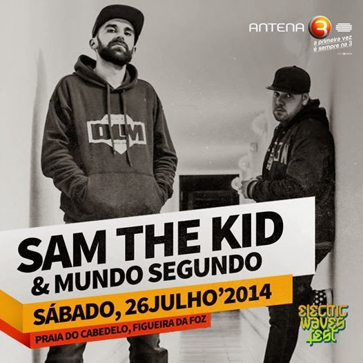 Sam The Kid & Mundo Segundo confirmados no Electric Waves