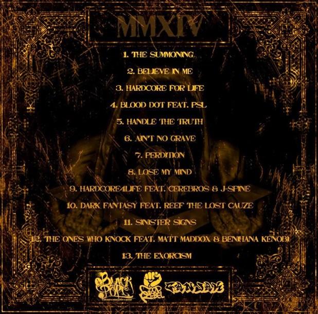 Álbum: Black Pope - The Sinister Minister