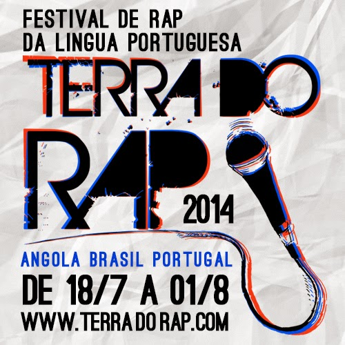 """Festival de Rap Lusófono """"Terra do Rap"""" leva ao Brasil Artistas de Angola e Portugal"""