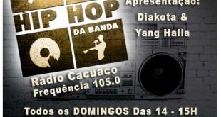 Estreia amanhã novo programa de Hip Hop da Rádio Cacuaco