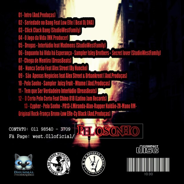 Álbum: WE$T011 - Pelo Sonho [Download]