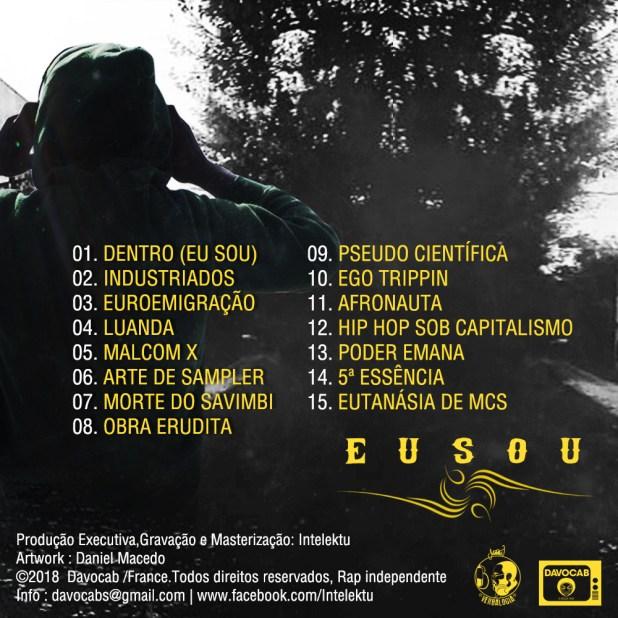 """Intelektu lança álbum """"Eu Sou"""""""