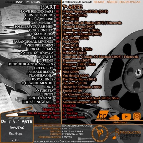 Beat Tape: Rawtas - DA 7ª à 1ª ARTE