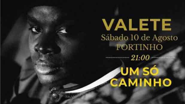 Show: Valete em São Tomé e Príncipe.