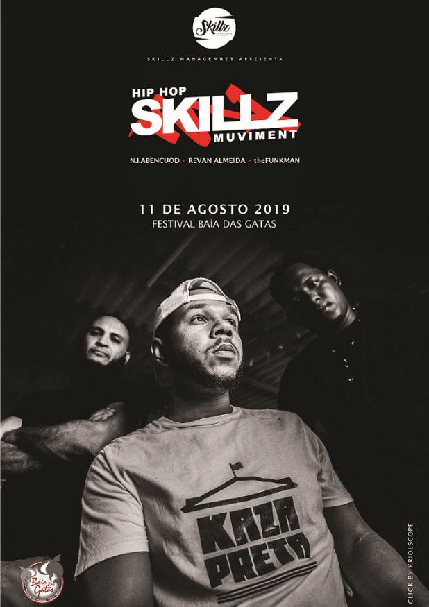 HIP HOP SKILLZ MUVIMENT no Festival Baía das Gatas (11/08/2019)