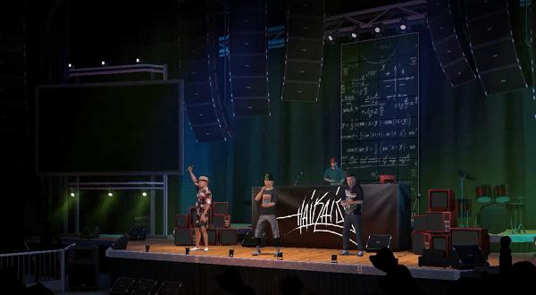 Show virtual do Haikaiss tem mais de 2,5 milhões de visitas no Avakin Life