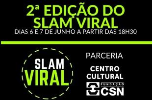 Slam Viral: campeonato de poesia online realiza sua 2ª edição nos dias 6 e 7 de junho