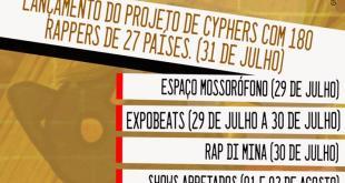 """Festival Decolonial de Rap reúne """"debates utópicos"""" e """"shows impossíveis"""" destacando grupos sociais oprimidos"""