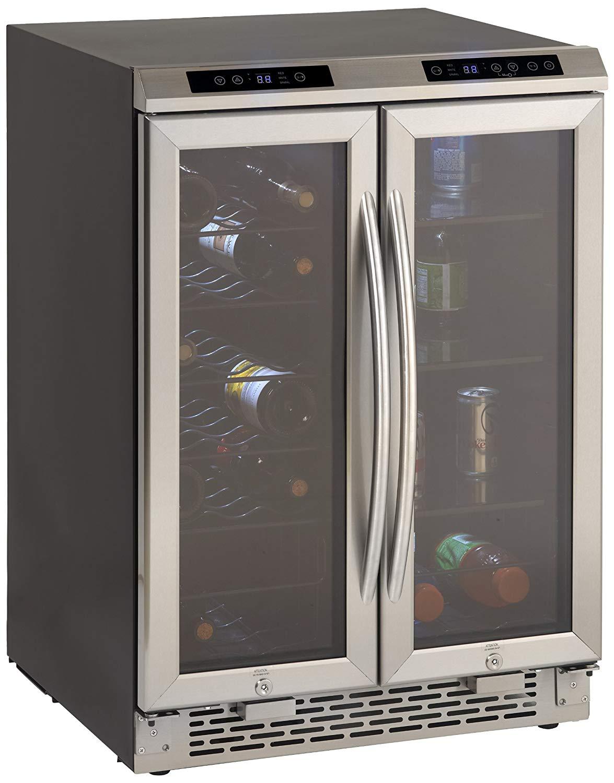 Avanti WBV19DZ Side by Side Dual Zone Wine/Beverage Cooler