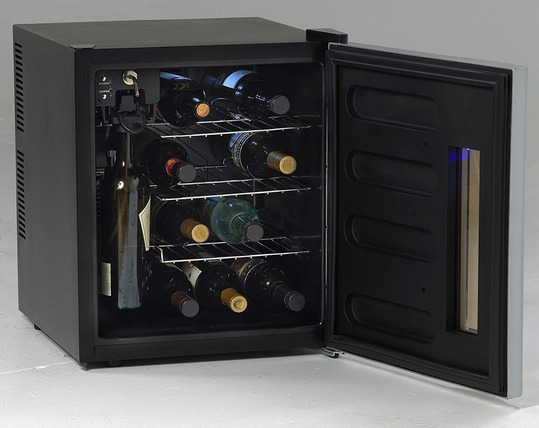 """Avanti WCP13IS Wine Chiller, 18"""", Platinum"""