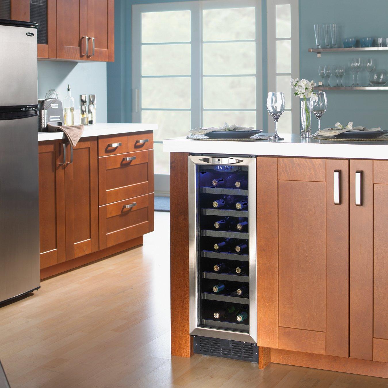 Danby DWC276BLS 27-Bottle Silhouette Wine Cellar
