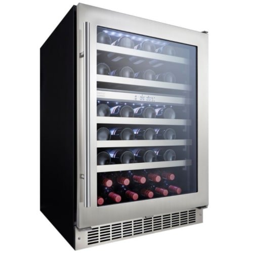 Click image to open expanded view Danby Silhouette Professional 51-Bottle Built-In Wine Cooler