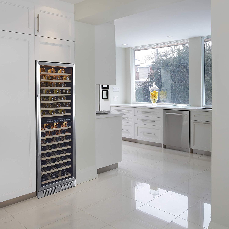 NewAir Wine Cooler AWR-1600DB Premier Gold Series 160 Bottle Built-In