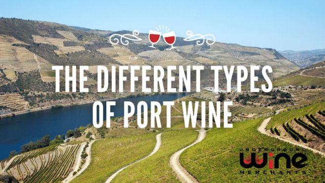 Types of Port Wine
