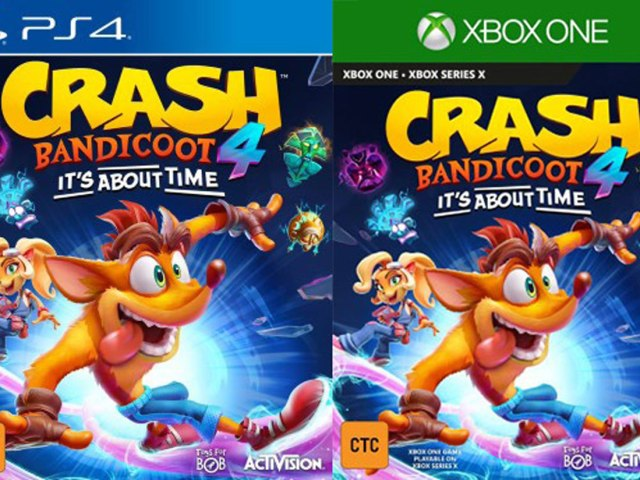 Crash Bandicoot is back, it's about time!